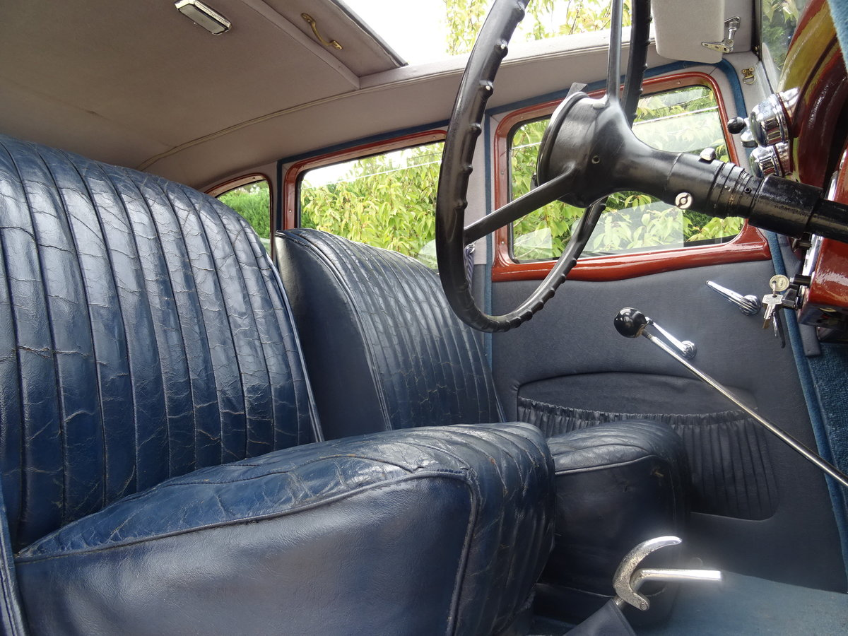1935 Standard 12 Saloon (Deluxe) – Fully Restored For Sale (picture 6 of 6)