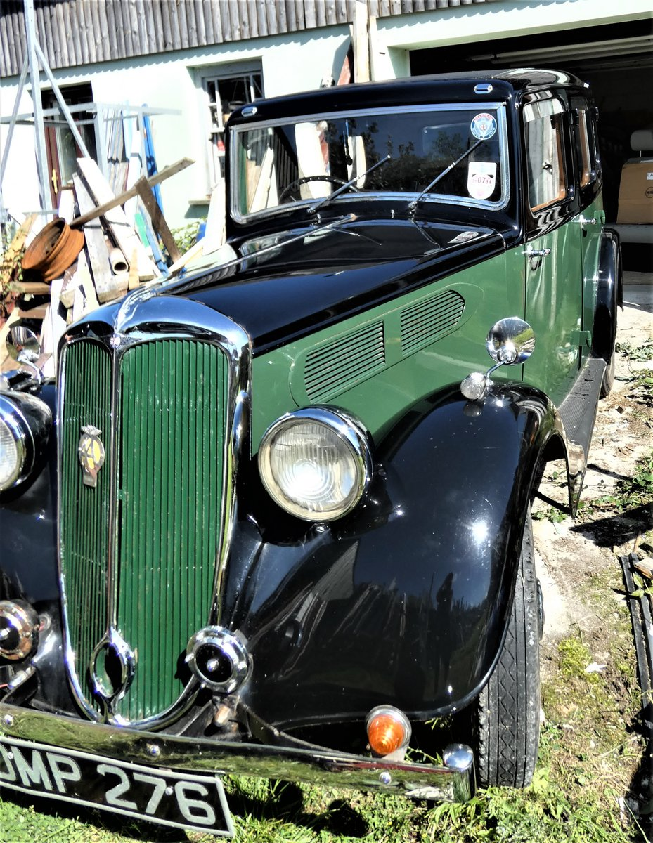 1936 A Lovely Standard 10 Car- Black Over Green For Sale (picture 4 of 6)