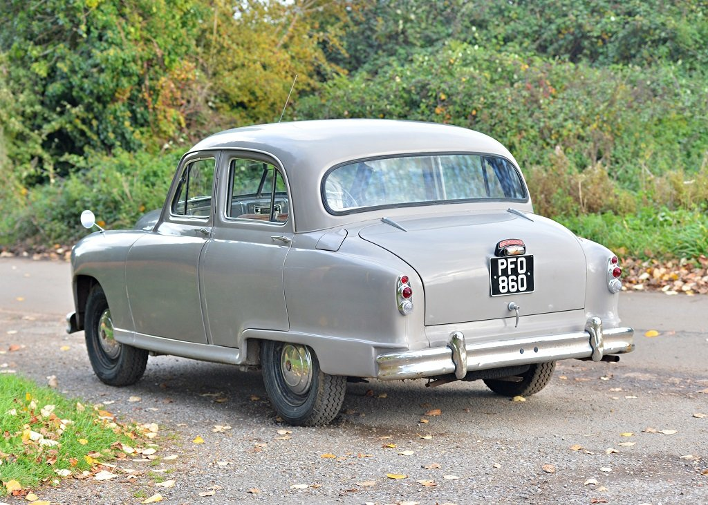 1954 Standard Vanguard Phase II Saloon For Sale by Auction (picture 1 of 6)