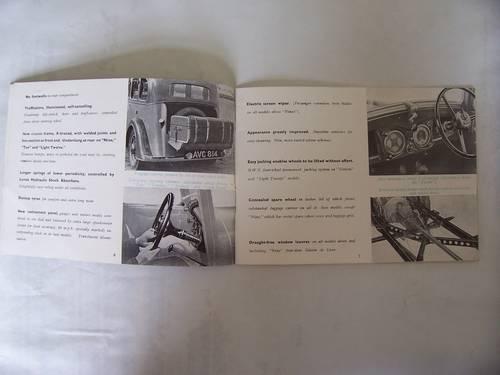 1936 STANDARD CARS 1935