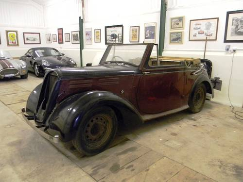 1938 Standard Flying 12 Convertible For Sale (picture 1 of 6)