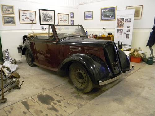 1938 Standard Flying 12 Convertible For Sale (picture 2 of 6)