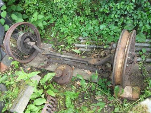 Front Axle for 1929 Standard 6 cylinder For Sale (picture 1 of 6)