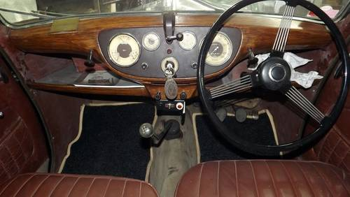 1947 Standard Flying Twelve (RHD) For Sale (picture 4 of 5)
