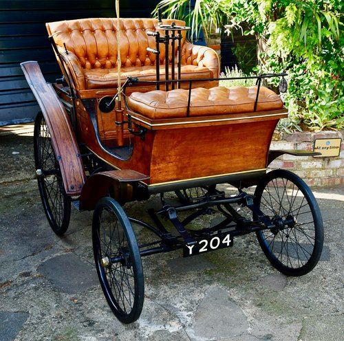 1899 Star 3½hp Single-cylinder Vis-à-Vis For Sale (picture 2 of 6)