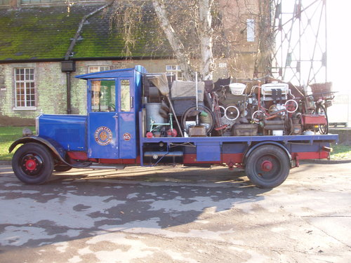 1930 Star Flyer VB4 flat bed lorry For Sale (picture 1 of 6)