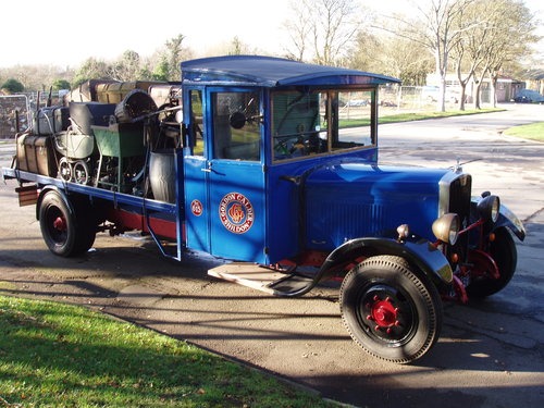 1930 Star Flyer VB4 flat bed lorry For Sale (picture 2 of 6)
