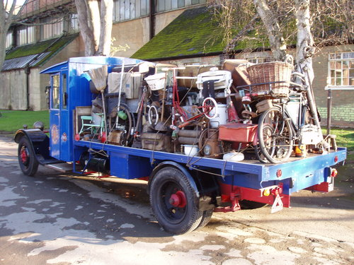 1930 Star Flyer VB4 flat bed lorry For Sale (picture 3 of 6)