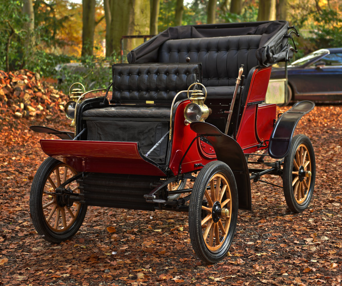 1903 STEVENS-DURYEA 7hp MODEL L RUNABOUT For Sale (picture 1 of 12)