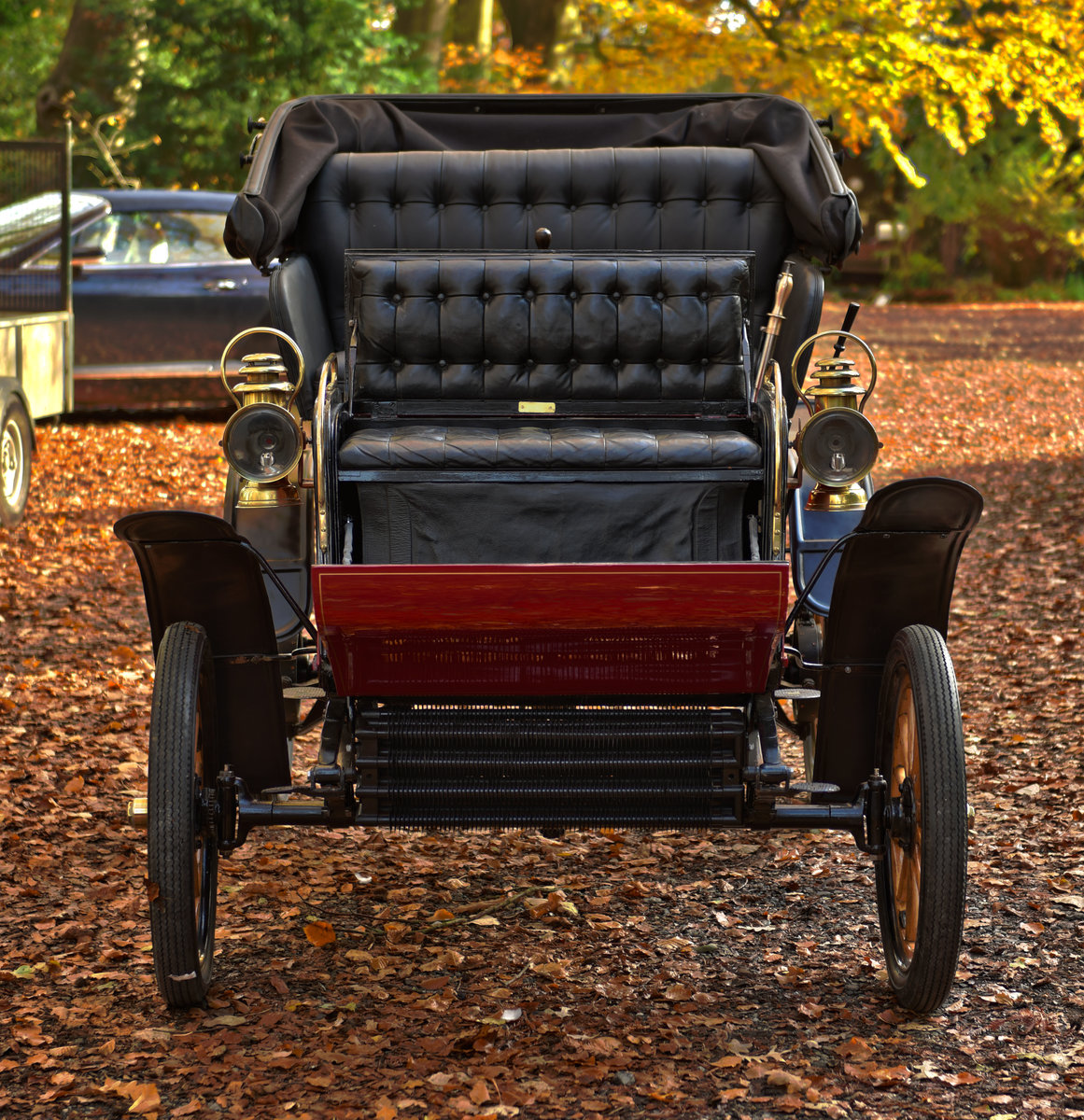 1903 STEVENS-DURYEA 7hp MODEL L RUNABOUT For Sale (picture 3 of 12)