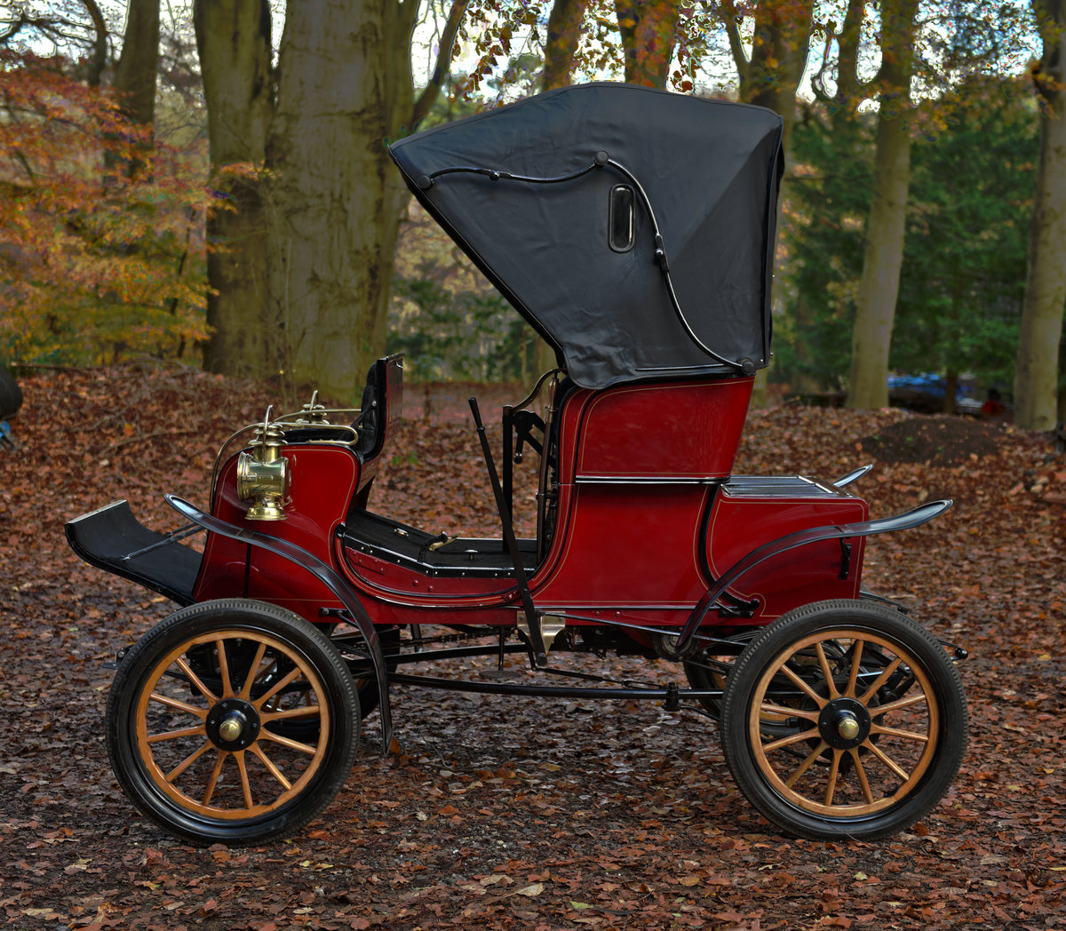 1903 STEVENS-DURYEA 7hp MODEL L RUNABOUT For Sale (picture 4 of 12)