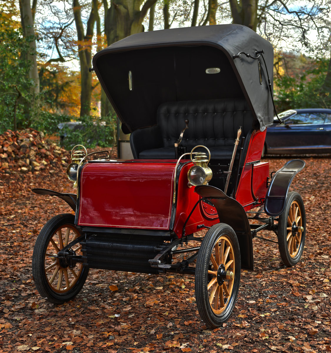 1903 STEVENS-DURYEA 7hp MODEL L RUNABOUT For Sale (picture 5 of 12)