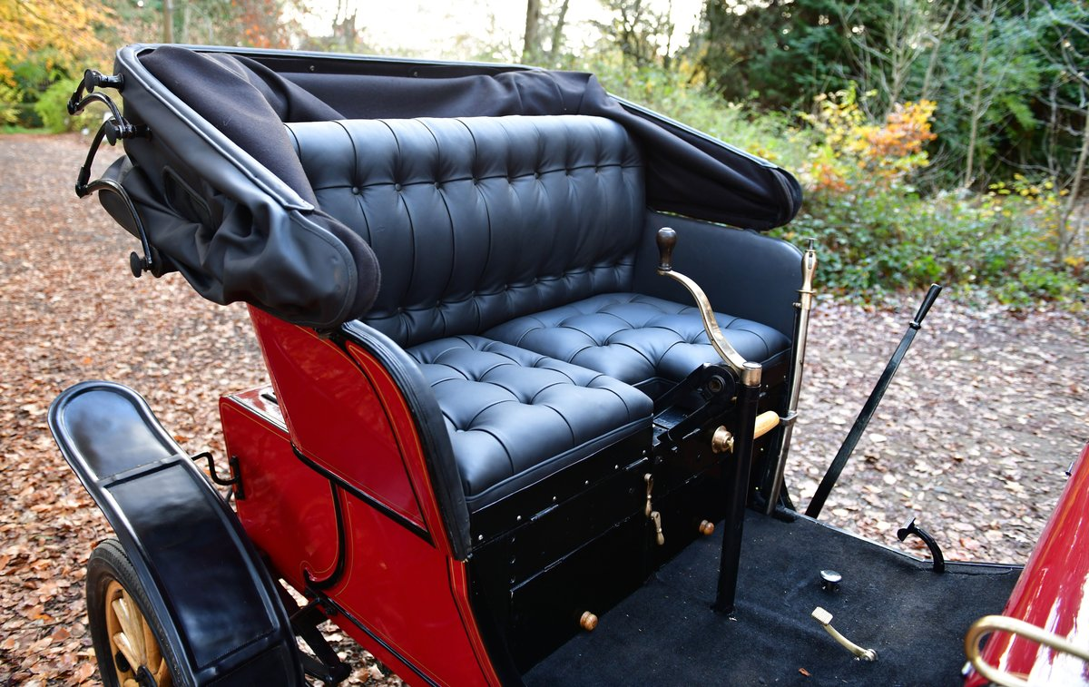 1903 STEVENS-DURYEA 7hp MODEL L RUNABOUT For Sale (picture 11 of 12)
