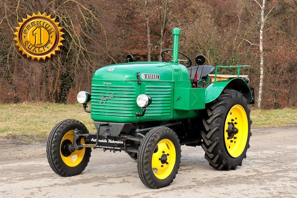"1949 Steyr T180 ""Shortnose"" Farm Tractor For Sale (picture 1 of 12)"