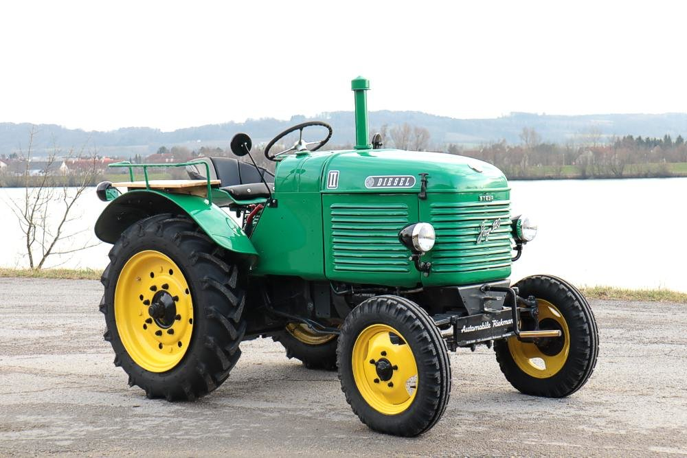 "1949 Steyr T180 ""Shortnose"" Farm Tractor For Sale (picture 2 of 12)"