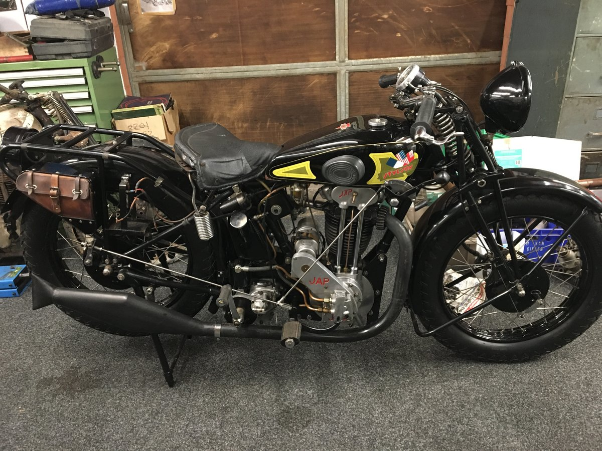 Stylson Sport JAP 500 OHV 1932 For Sale (picture 1 of 6)