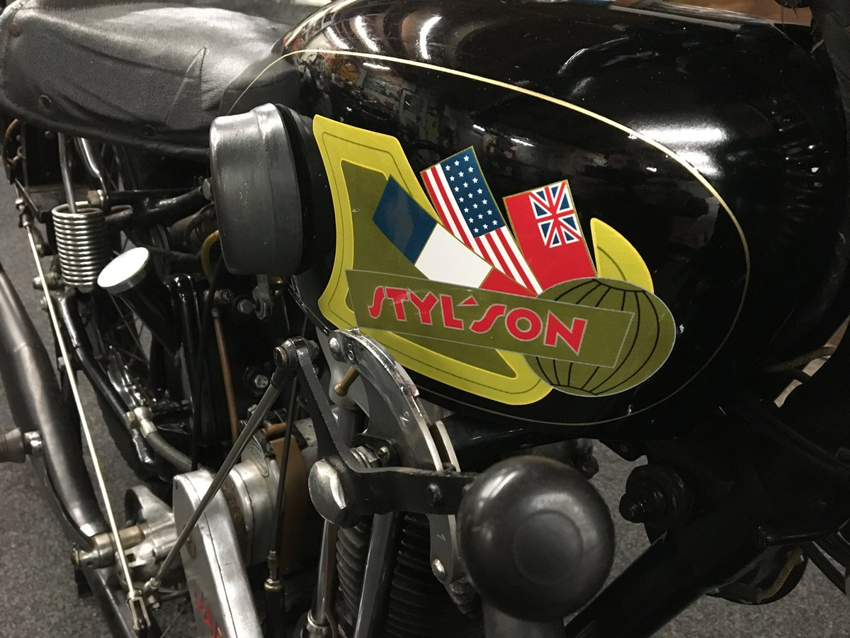 Stylson Sport JAP 500 OHV 1932 For Sale (picture 4 of 6)