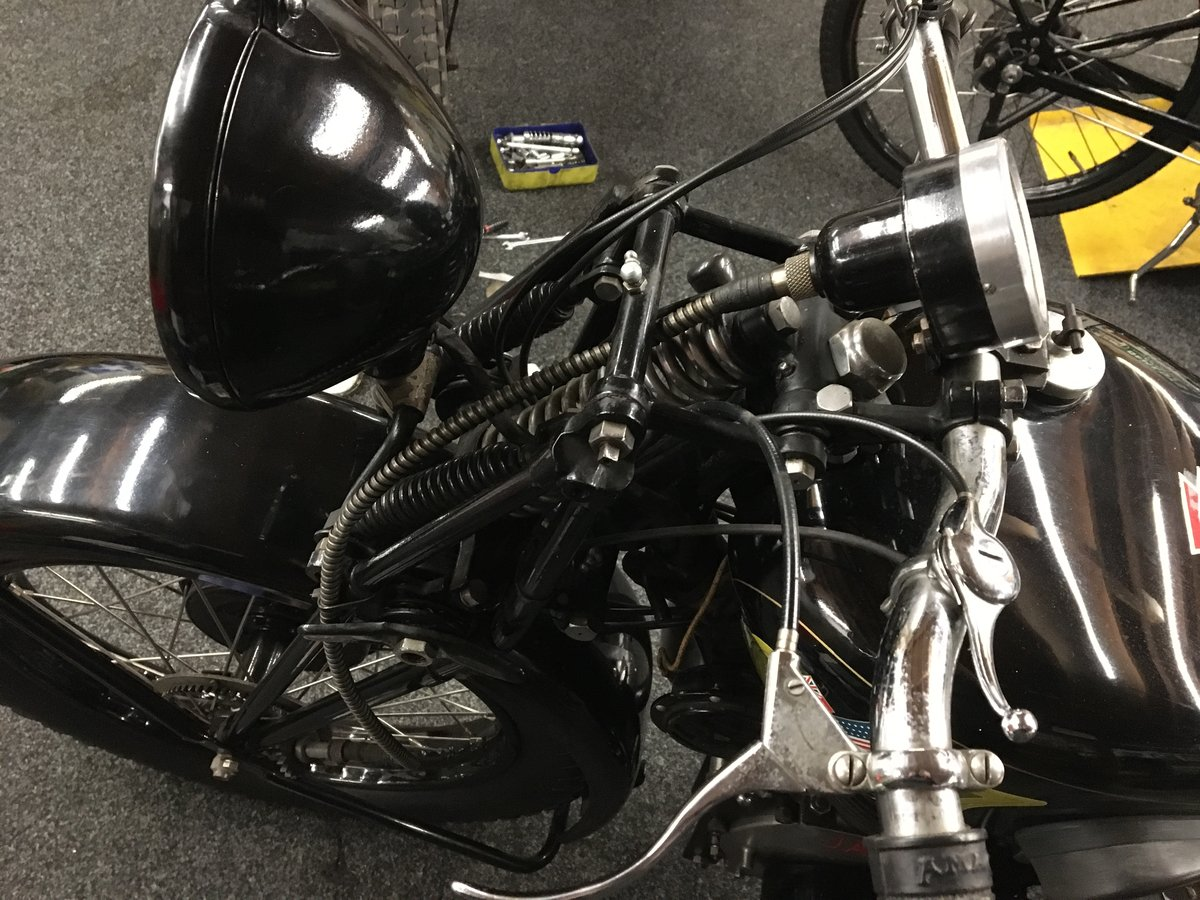 Stylson Sport JAP 500 OHV 1932 For Sale (picture 5 of 6)