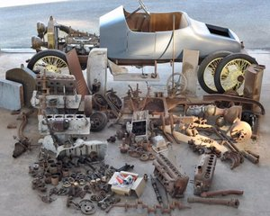 1913 STRAKER SQUIRE 15 HP TOURER (PROJECT) For Sale by Auction