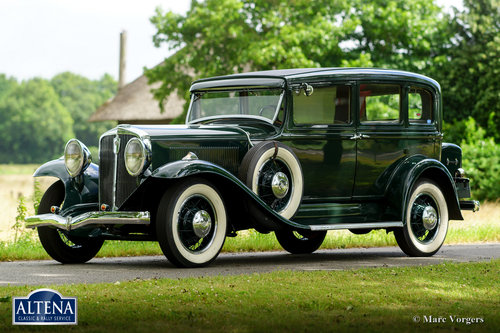 Studebaker President Eight Model 80, 1931 SOLD (picture 1 of 6)