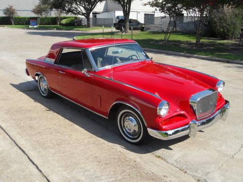 1962 Studebaker Gran Turismo For Sale (picture 1 of 6)