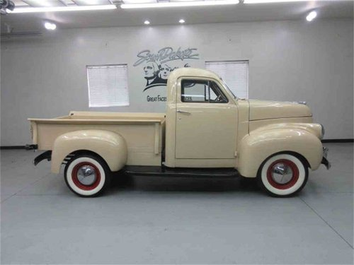 1947 Studebaker M45 Pickup Fully Restored For Sale (picture 6 of 6)