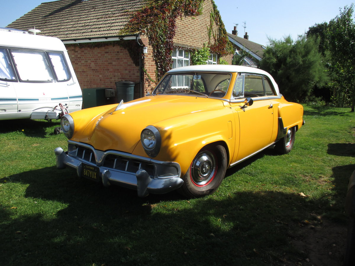1952 Studebaker Commander  Starliner Coupe For Sale (picture 1 of 3)