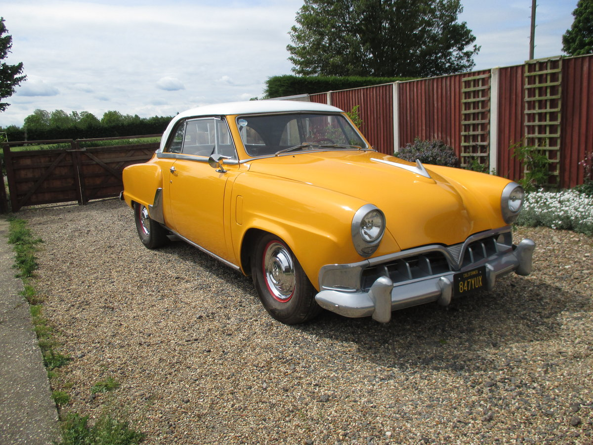 1952 Studebaker Commander  Starliner Coupe For Sale (picture 2 of 3)