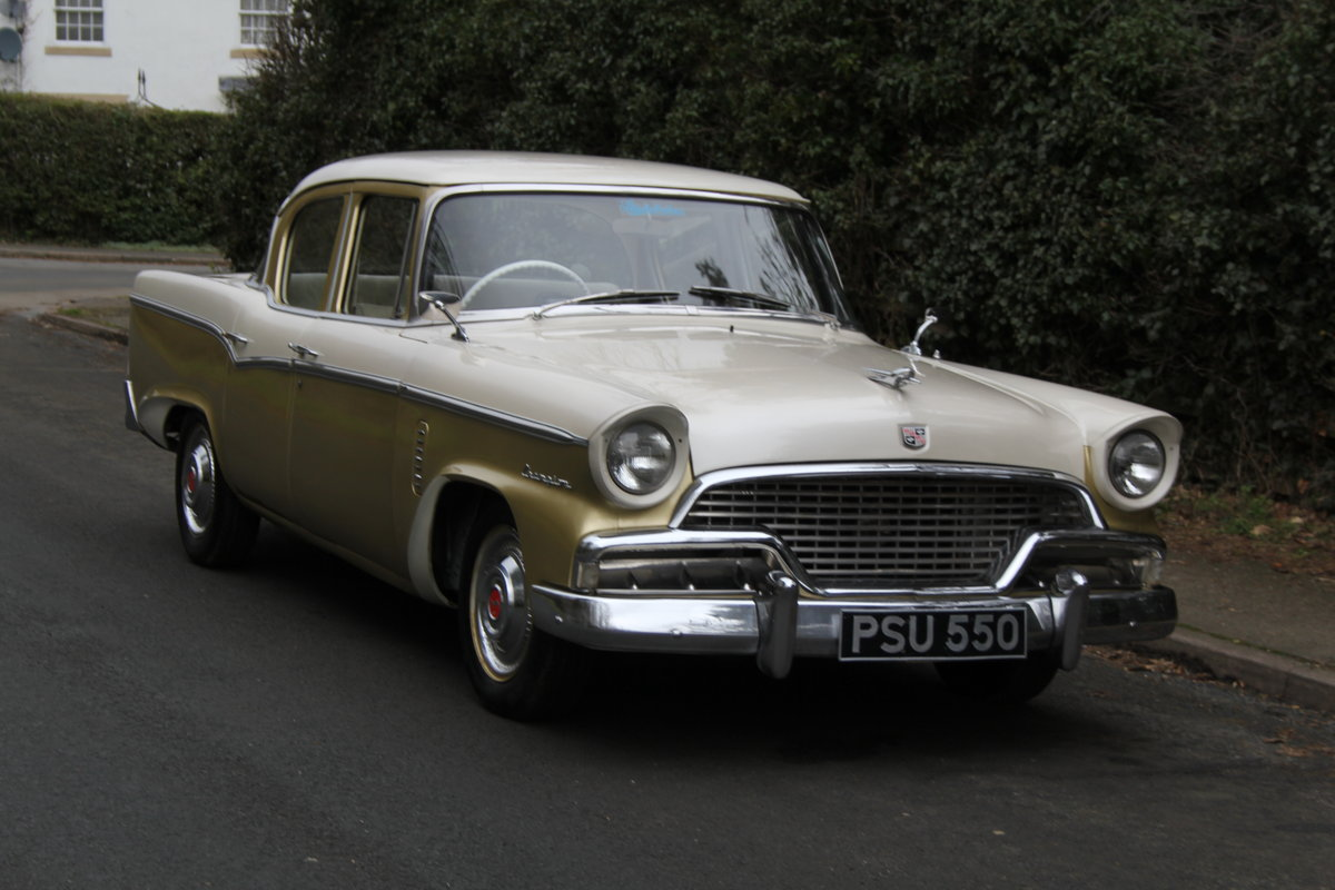 1956 Studebaker Champion RHD, believed the only 1 in Europe SOLD (picture 1 of 12)