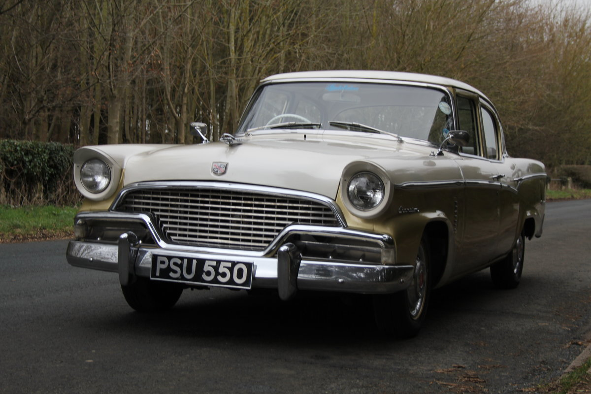 1956 Studebaker Champion RHD, believed the only 1 in Europe SOLD (picture 3 of 12)