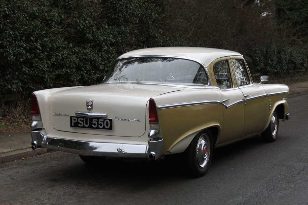 1956 Studebaker Champion RHD, believed the only 1 in Europe SOLD (picture 4 of 12)