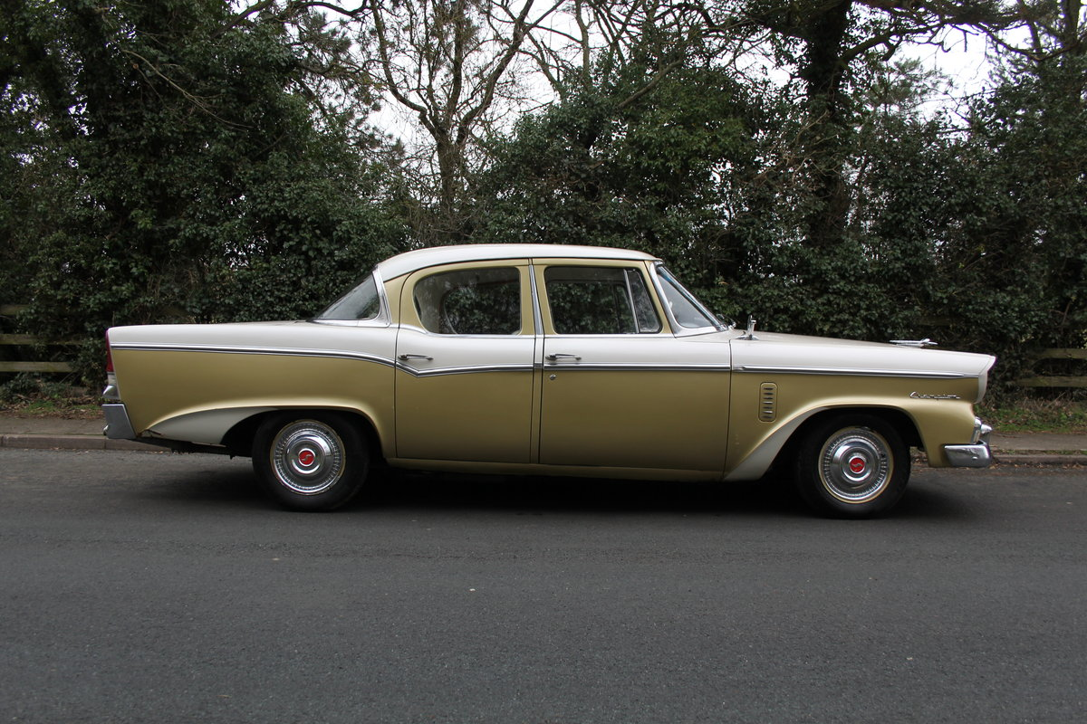 1956 Studebaker Champion RHD, believed the only 1 in Europe SOLD (picture 5 of 12)