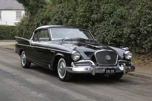 1958 Studebaker Silver Hawk V8, Rare manual, UK registered