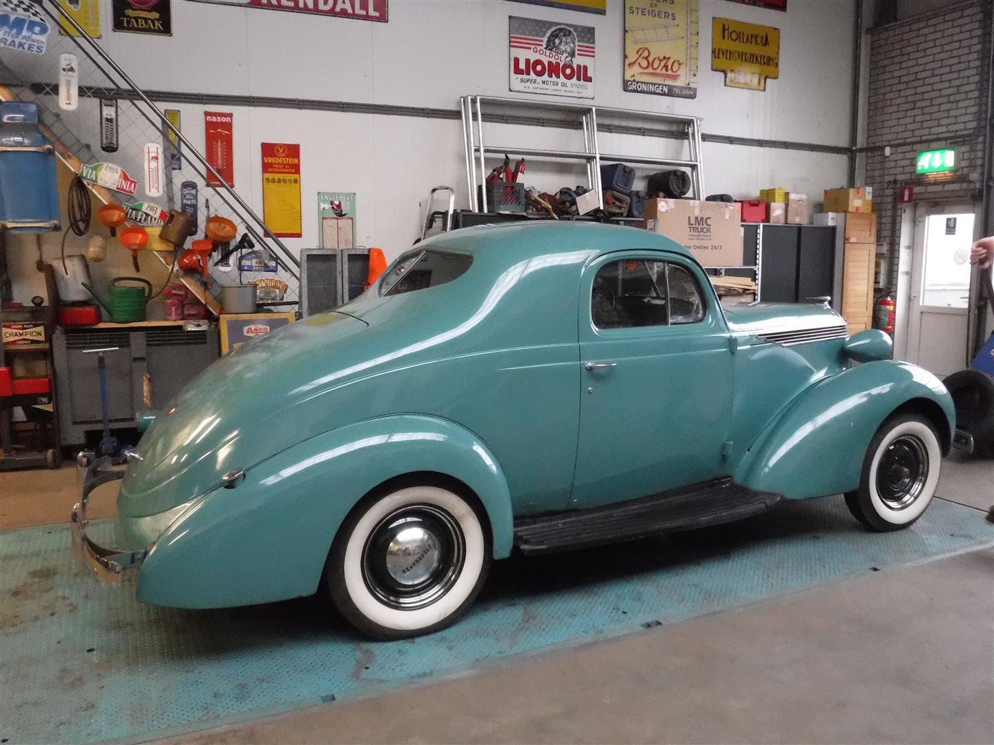 Studebaker Dictator coupé 1937 For Sale (picture 4 of 6)