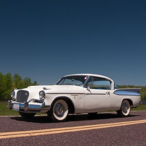 1957 Studebaker Golden Hawk Hardtop Rare Supercha 289 $48.9k For Sale