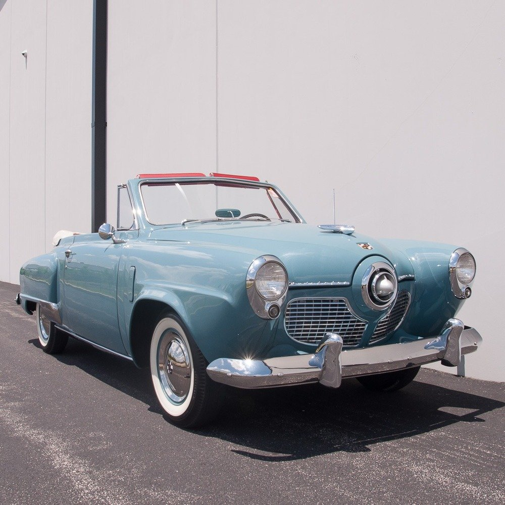 1951 Studebaker Champion Regal Deluxe Convertible = Rare $44 For Sale (picture 1 of 6)