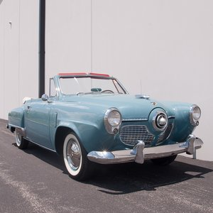 1951 Studebaker Champion Regal Deluxe Convertible = Rare $44 For Sale