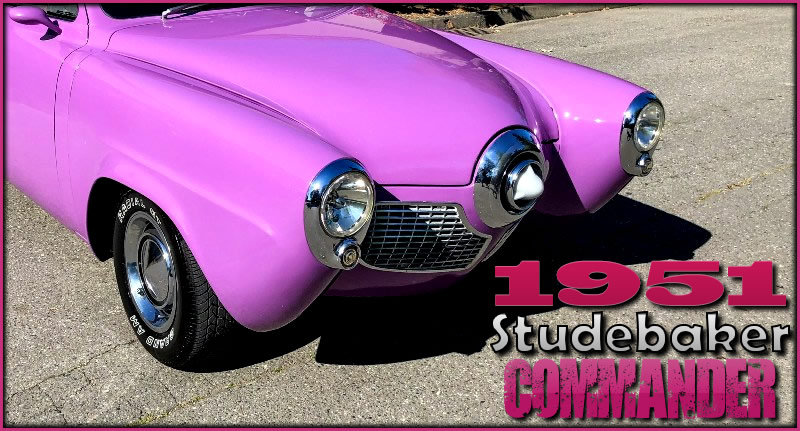 1951 Studebaker Commander Starlight Coupe = StreetRod $32.9k For Sale (picture 3 of 6)