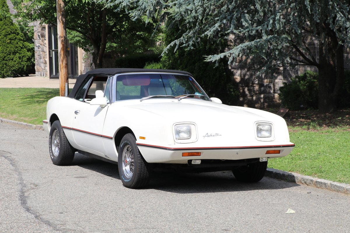 1987 Avanti II Convertible  #22984 For Sale (picture 1 of 6)