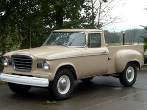 1960 Studebaker Champ Pick-Up Truck = V-8 Manual Tan $19.5k For Sale