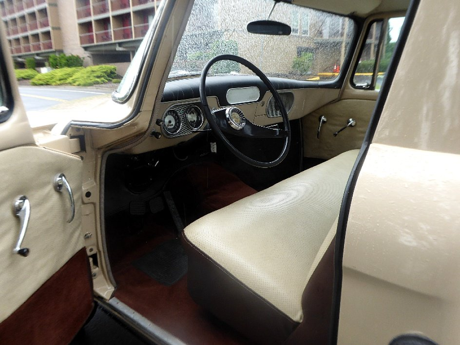 1960 Studebaker Champ Pick-Up Truck = V-8 Manual Tan $19.5k For Sale (picture 5 of 6)