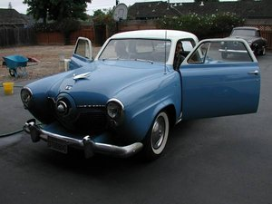 1950 Studebaker STARLIGHT COUPE Blue Dry Project needs tlc For Sale