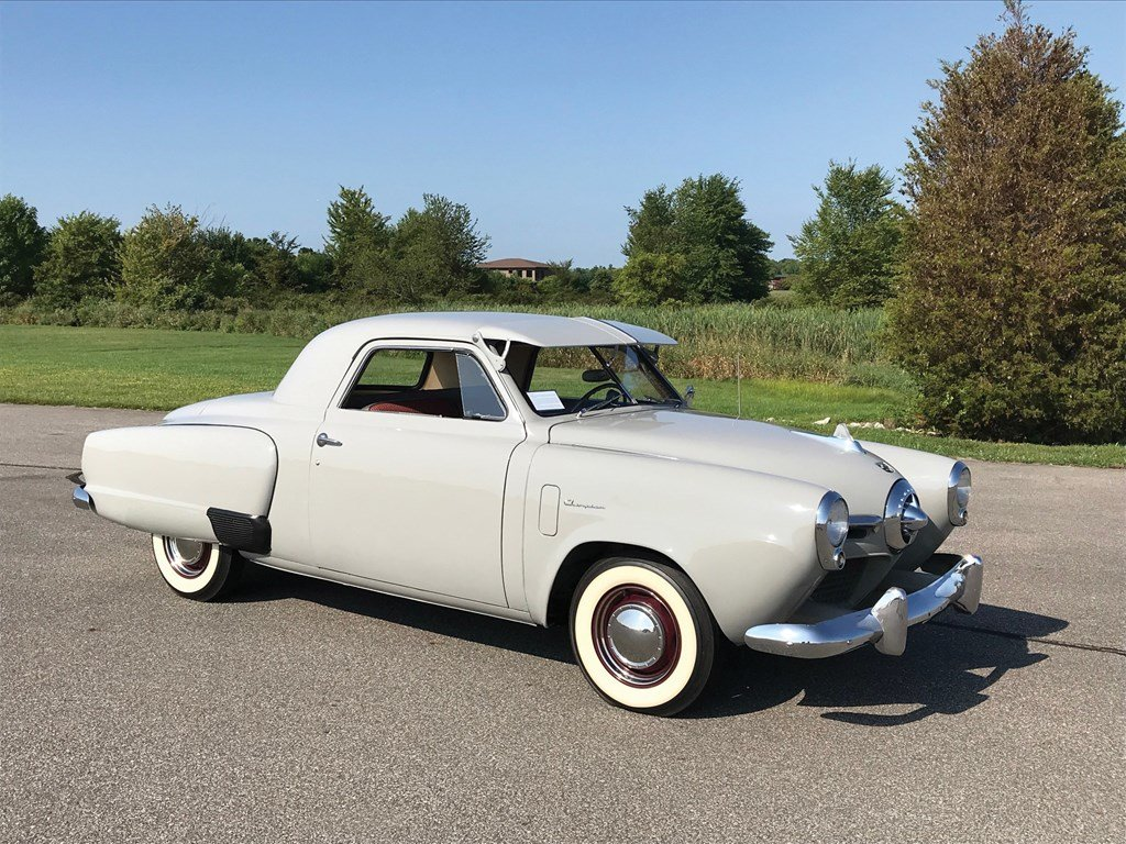 1950 Studebaker Champion Deluxe Business Coupe  For Sale by Auction (picture 1 of 6)