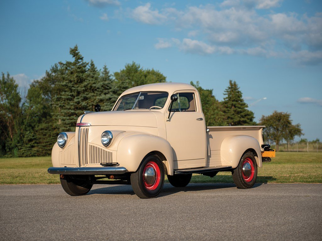 1947 Studebaker M-5 Pickup  For Sale by Auction (picture 1 of 6)