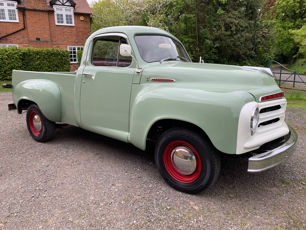 1955 STUDEBAKER E 7 HALF TON 289 V 8 PICK UP TRUCK For Sale (picture 1 of 6)