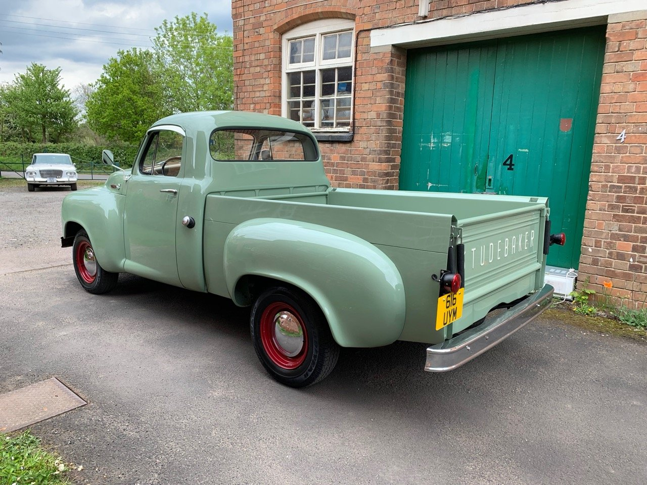 1955 STUDEBAKER E 7 HALF TON 289 V 8 PICK UP TRUCK For Sale (picture 2 of 6)