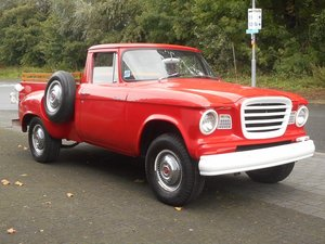 1960 STUDEBAKER CHAMP PICK UP V8