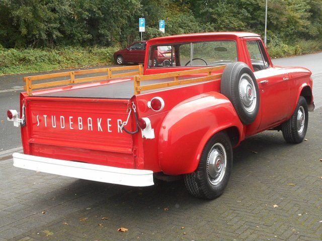 1960 STUDEBAKER CHAMP PICK UP V8 For Sale (picture 2 of 6)