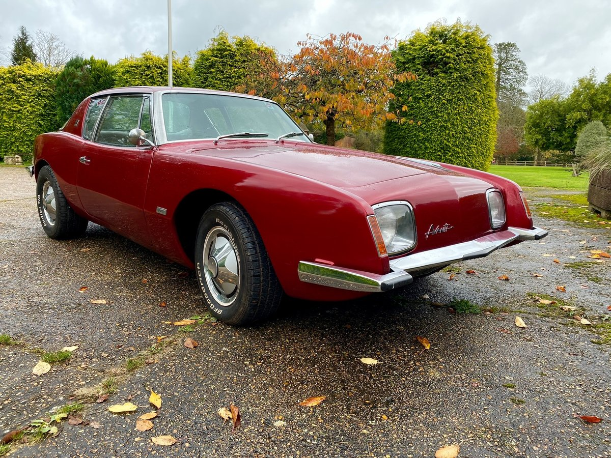 Studebaker Avanti R3 - 1964 - 5.0 Supercharged V8 Rebuilt For Sale (picture 1 of 4)
