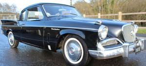 1958 Studebaker Silver Hawk V8 Manual With Overdrive  SOLD